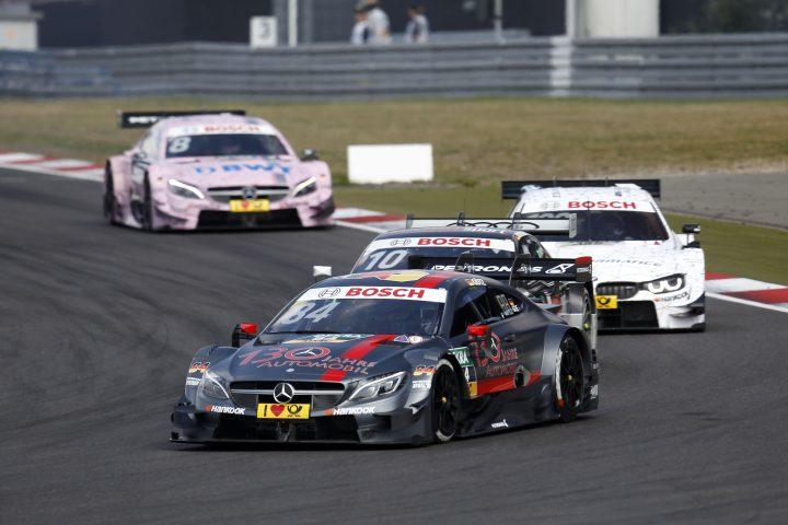 Maximilian Götz (GER) Mercedes-AMG Team HWA, Mercedes-AMG C63 DTM, Nürburgring, 09.09.2016, DTM,